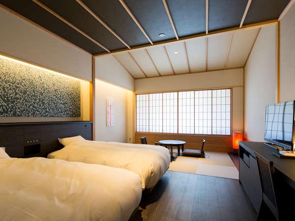 ベッドを2台ご準備したゆったりとしてお部屋です。