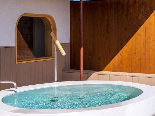 月泊の湯 水風呂