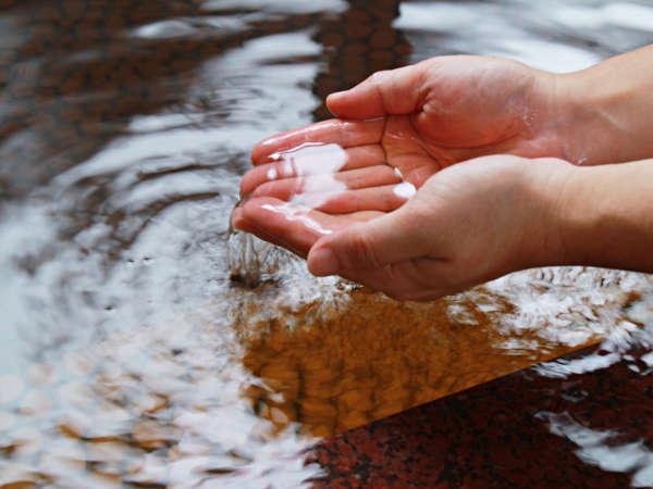 【温泉】柔らかなあたたまりの湯、美肌の湯です。心ゆくまでおくつろぎください。