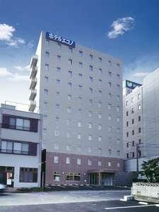ホテルエコノ津駅前の外観