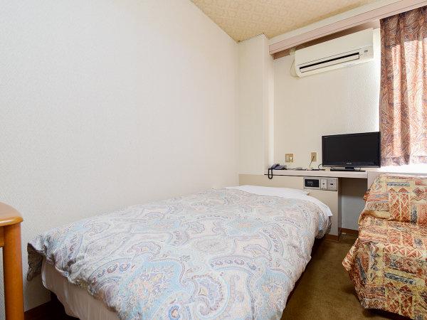 *【禁煙・シングル】シンプルでゆったりと寛げる広めのお部屋です