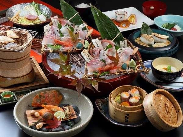 【スタンダード】 『10個の丸ごとおもてなし』 料理長おすすめ!きときと地魚♪