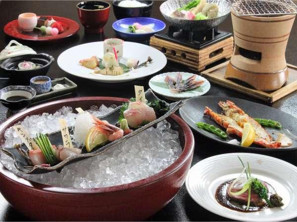 【スタンダード】『10個のまるごとおもてなし』 料理長おすすめ!きときと地魚♪