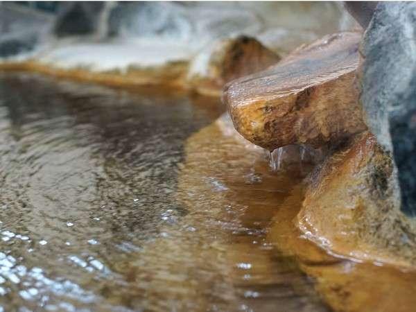 【温泉】源泉掛け流し。美人の湯をたっぷり、贅沢に。