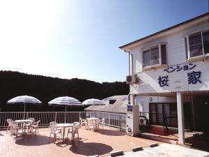 海の見えるペンション 桜家の外観