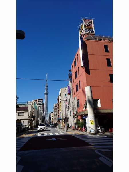 カプセルイン錦糸町の外観