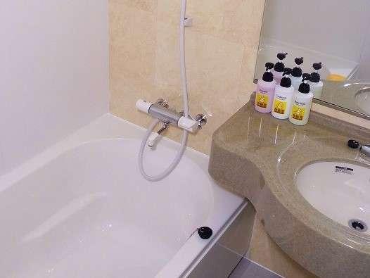 全室バス・トイレ完備。トイレは洗浄便座付き