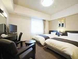 コンフォートツインルーム◆上質◆高層階◆明るく高級感がある落ち着いた客室◆ベッドサイズ120×195◆