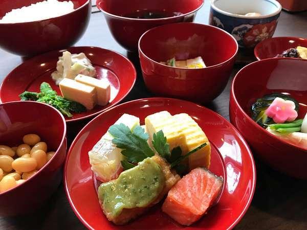 【早割30】早期予約でお得!/老舗割烹の仕出し和朝食付き