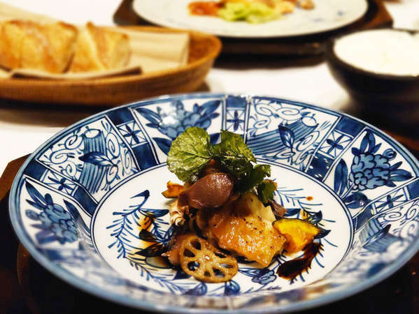 【夕食】お肉料理(一例)