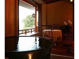 『信楽焼き』半露天風呂付ダブルルーム