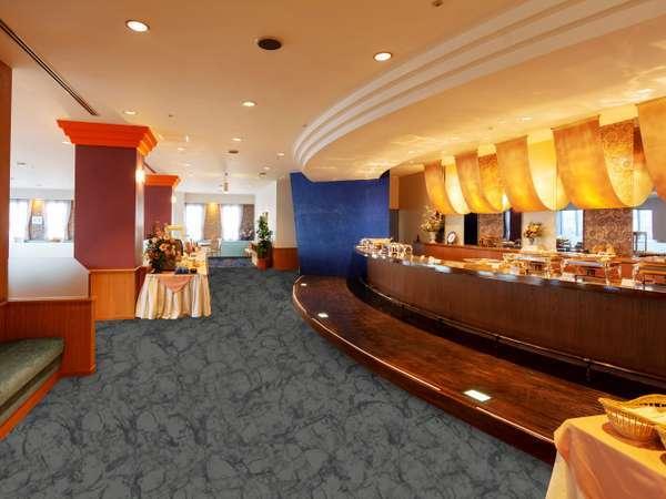朝食バイキング♪レストラン「オーブ」にて 6:30-9:30 ご利用いただけます☆