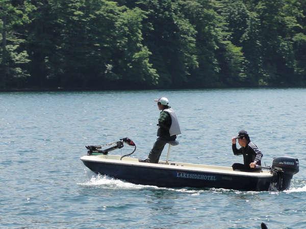 野尻湖でバス釣り素泊りプラン