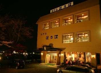 桜と欅の宿ホテル住乃江の外観