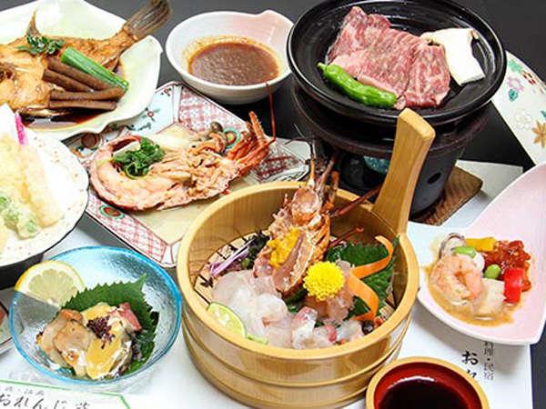 淡路牛陶板焼+海の幸満喫プラン★