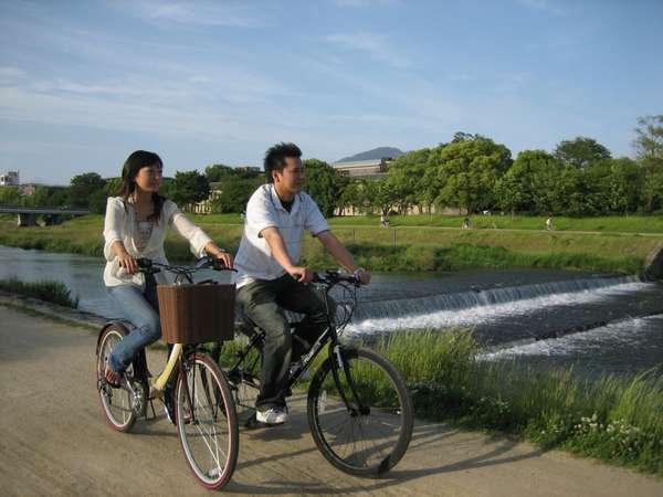 【エコ旅】京都の風を感じて〜レンタサイクル付!