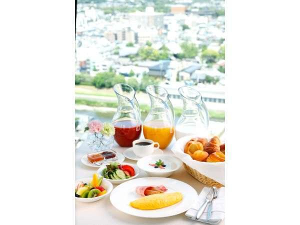 【古都の絶景を眺めながら朝食を〜】お得な朝食付