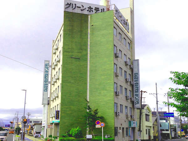 焼津グリーンホテルの外観