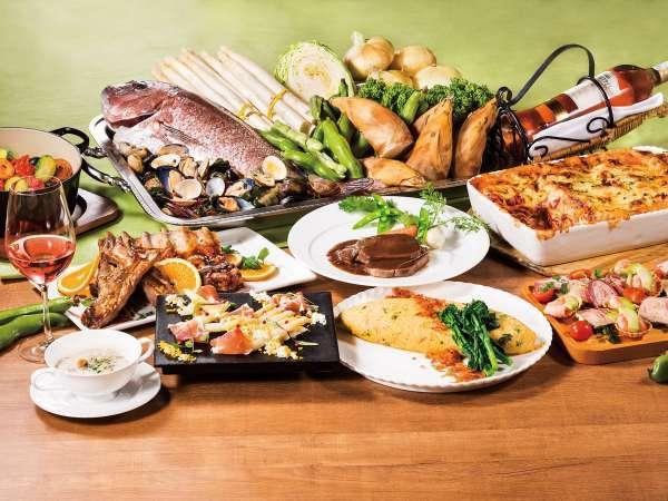 ホテル満喫!選べるディナーブッフェ&朝食ブッフェ付プラン