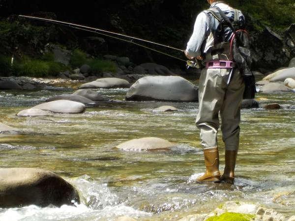 【渓流釣り】大自然は招くよ〜☆日釣り券付きで大物ゲットのチャンス!