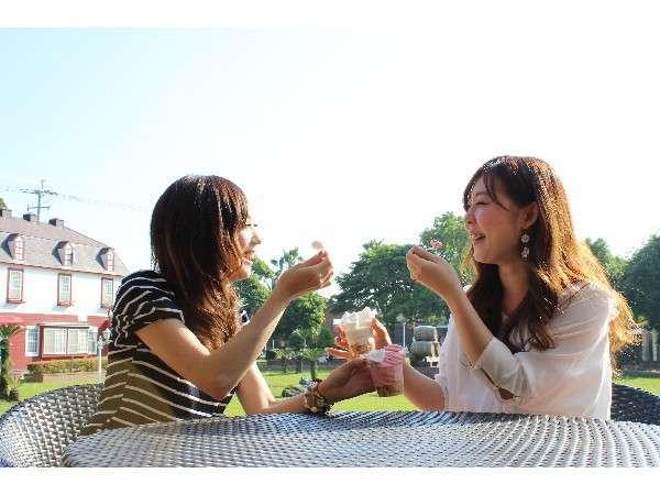 【女性限定】プレゼント付!女子旅プラン☆朝・夕食付き