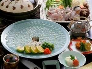 【冬季限定♪檜内風呂付客室で過ごす】トリコになる美味しさ!鮮度抜群の<ふぐ>を丸ごと食べ尽そう♪