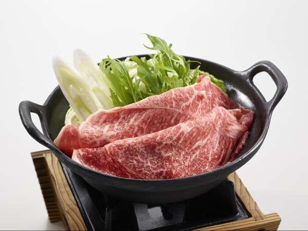 【直前割引】長野県産りんご和牛すき焼きプラン