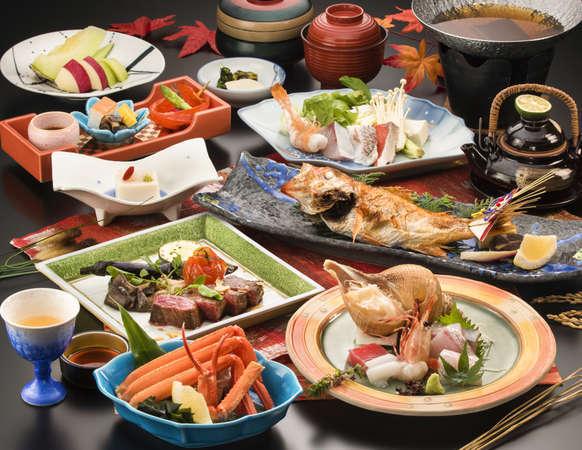 贅沢な休日に。料理長おすすめの極上会席料理とゆったり滞在。◆極上会席プラン 輝−KAGAYAKI−