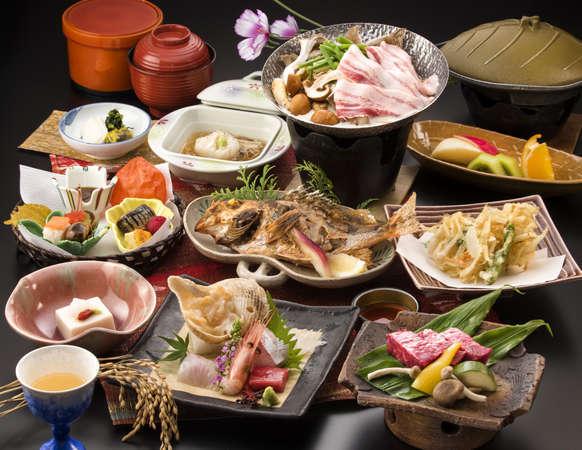 ワンランク上のお料理をご提供いたします。 ◆特選会席プラン 彩−IRODORI−