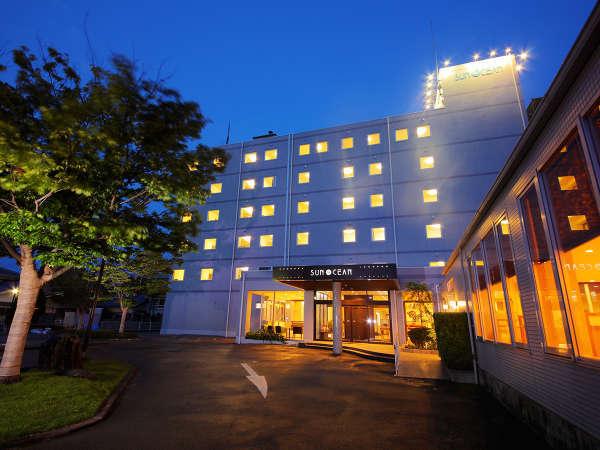 【外観】~ようこそ。ホテルサンオーシャンへ~