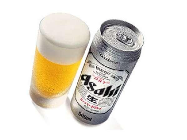 500mL缶ビール&おつまみ付宿泊プラン