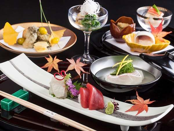 【季節のお料理】特別会席付プラン【日本料理あお花】