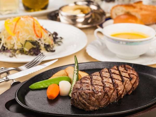 【肉好き集合!】ボリュームステーキディナープラン