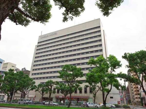 チサンホテル神戸の外観