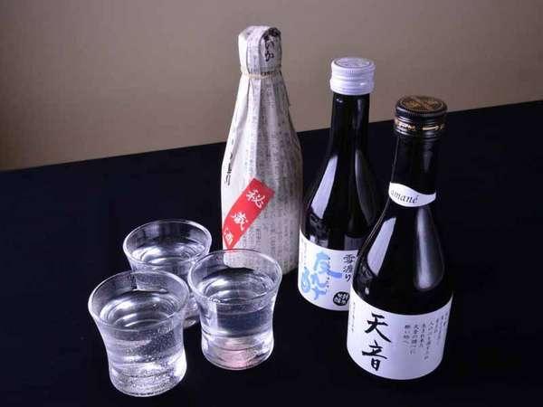 *地酒プラン/歴史と伝統ある鳴子温泉が誇る地酒とともに語らいの夜をお過ごし下さい。