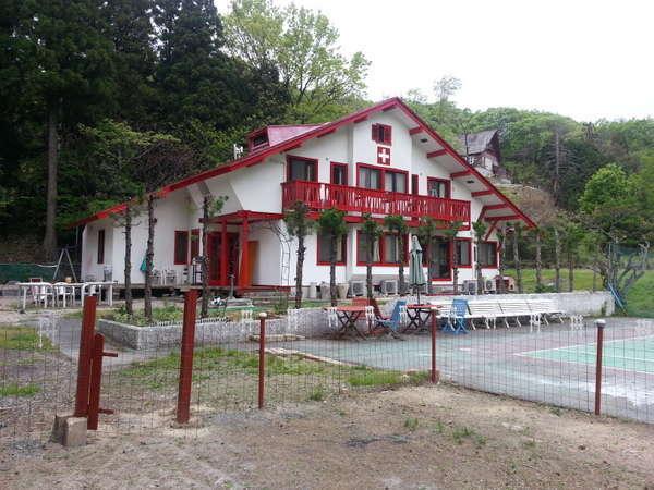 ペンション琵琶湖の外観