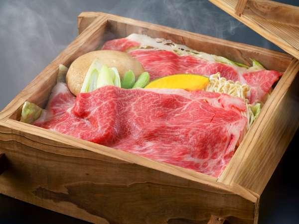 牛肉の旨みを引き出す豊後牛蒸ししゃぶ