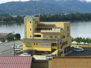 天橋立 旅館 松風荘の外観