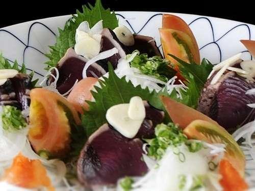 【平日限定】鰹のたたき付おまかせ皿鉢料理★海側和室