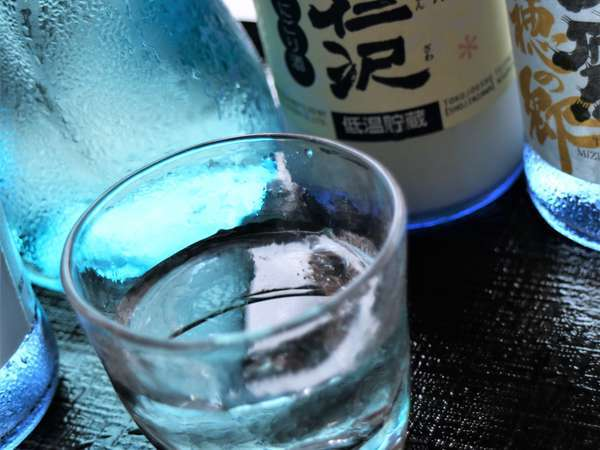 【栃木の地酒飲み比べプラン】 地元食材を活かした和食と一緒に日本酒満喫♪