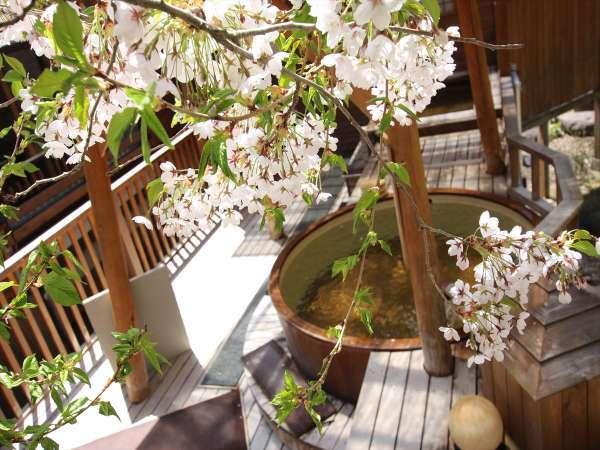 【大浴場露天風呂】春のイメージ