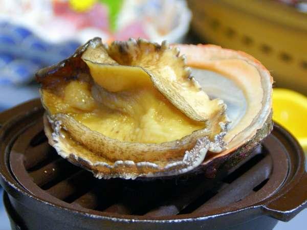 和具名物てこね寿司と今が旬の大きな和具産アワビの踊り焼き付き♪