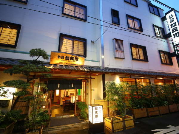 旅館 加茂川の外観