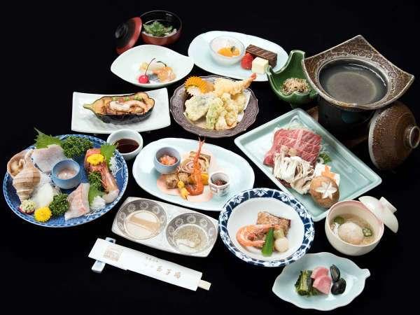 【 松コース/お食事処 】ちょっと贅沢してみませんか?お料理グレードアッププラン