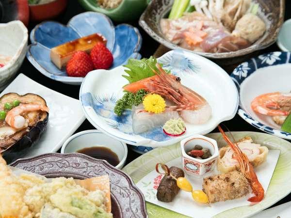 【 竹コース/お食事処 】季節のうつろいを食で感じる和食膳スタンダードプラン