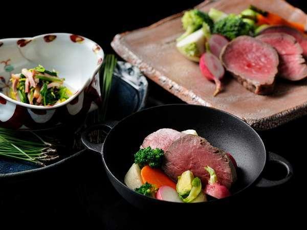 ◇冬の特別会席◇和牛フィレ肉と季節野菜の大航海仕立て