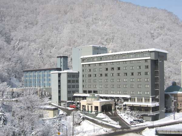 ホテル全景 冬景色