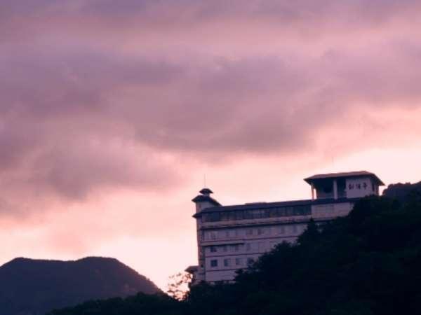 層雲峡朝陽亭の外観