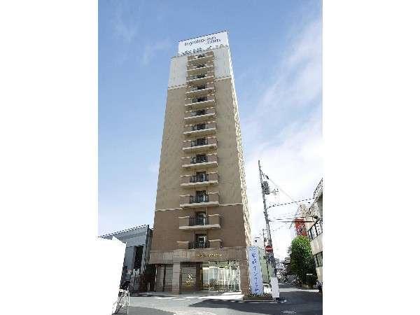 東横イン岡山駅西口広場の外観