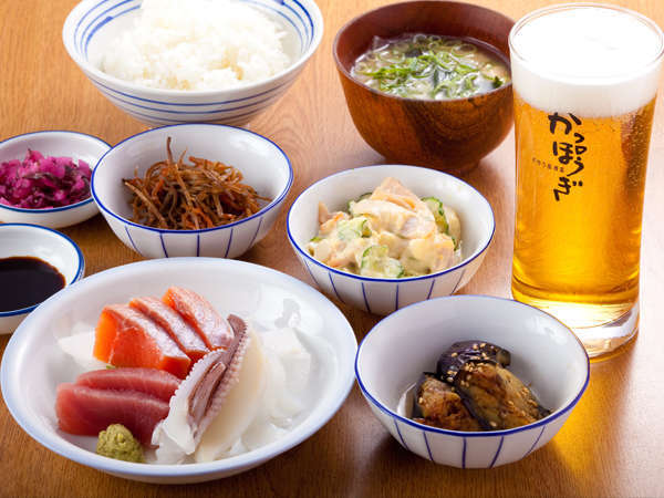 【2食付】◆夕食:おかみご膳◆朝食:お袋の味が自慢!健康朝食バイキング